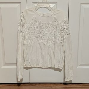 A&F Lace Top